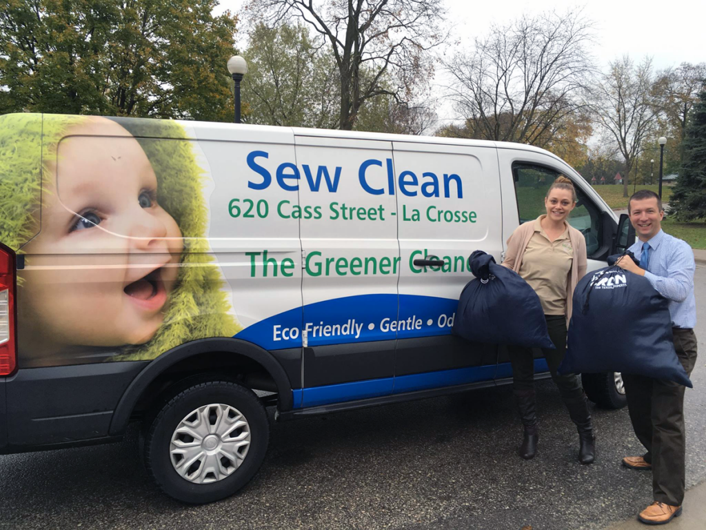 Sew Clean Delivery and Pickup